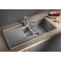 Kuchyňský dřez Blanco Favos 6 S Aluminium, s excentrem