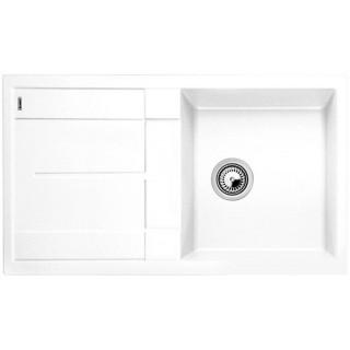Kuchyňský dřez Blanco Metra 5 S Bílá, s excentrem