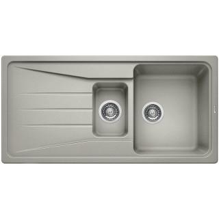 Kuchyňský dřez Blanco Sona 6 S Perlově šedá, s excentrem