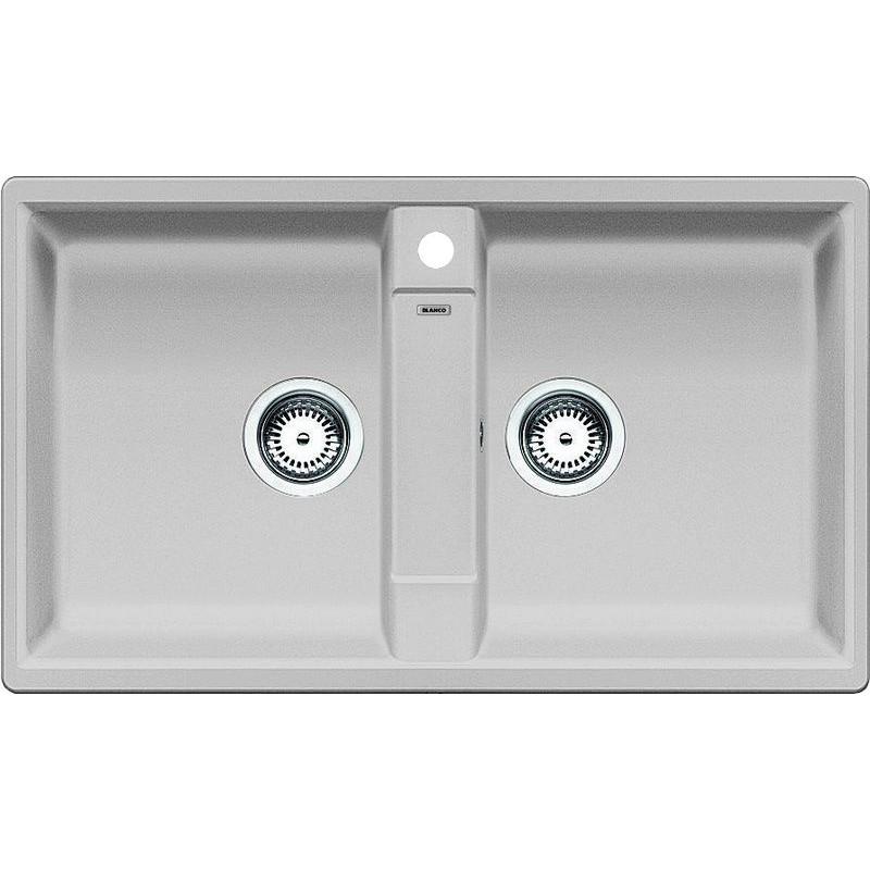 Kuchyňský dřez Blanco Zia 9 Aluminium, s excentrem