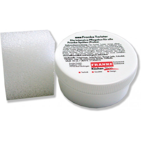 Čistící pasta Franke Twister malá, 40 ml
