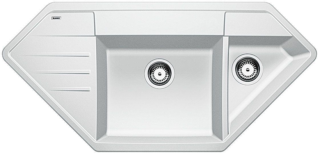 Kuchyňský dřez Blanco Lexa 9 E Bílá