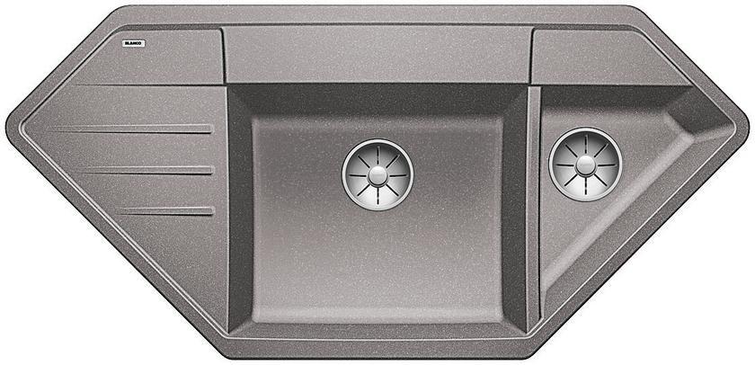 Kuchyňský dřez Blanco Lexa 9 E Aluminium